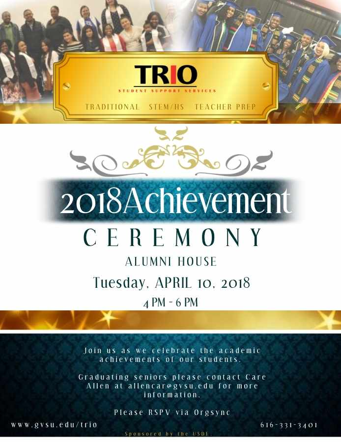 Achievement Ceremony 2018
